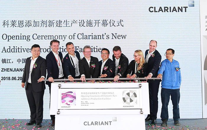 clariant, planta de aditivos, aditivos para plásticos, aditivos customizados, china