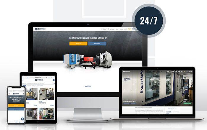 gindumac, kraussmaffei, maquinaria usada, plataforma online, venta de maquinaria de segunda mano, maquinaria para plásticos, inyectora usada, centas online, ecommerce