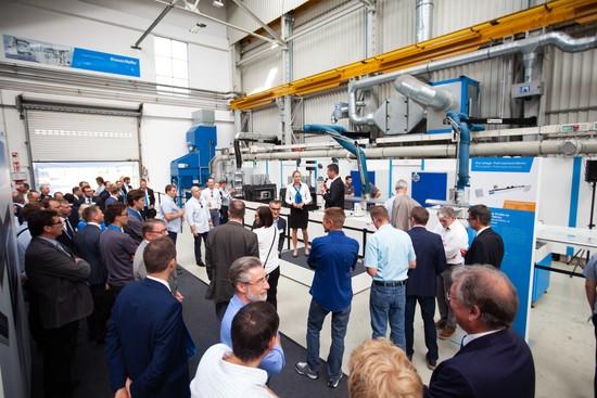 kraussMaffei, competence forum 2018, maquinaria de reacción de procesos, inyección de plásticos, extrusión de plásticos, munich, 180 anicersario, coscollola, inyect 4.0, industria 4.0