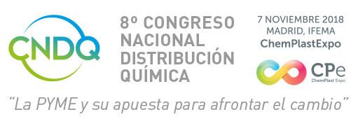 8cndq, congreso nacional de distribución química, brenntag, aecq, champlast expo, abierta inscripción, madrid, pymes del sector químico, química