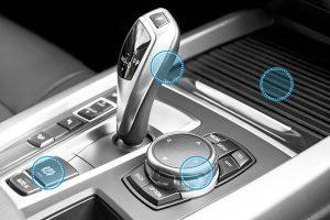 kraiburg tpe, fakuma 2018, elastómeros termoplásticos, novedades en Fakuma, thermolast K, serie fg/sf, interior de vehículos, tacto suave