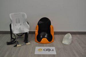 silla, impresión 3D, silla niña, AIJU, adaptación, personalización, fabricación aditiva, material polimérico