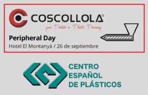 Coscollola, Centro español de plásticos, peripheral day, motan, getecha, frigel, regloplas, mtf technik, periféricos para plásticos