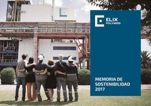 Elix Polymers, memoria de sostenibilidad, feique, respeto medioambiental, reducción de residuos, eficiencia de recursos, energía, medio ambiente, sostenibilidad, química