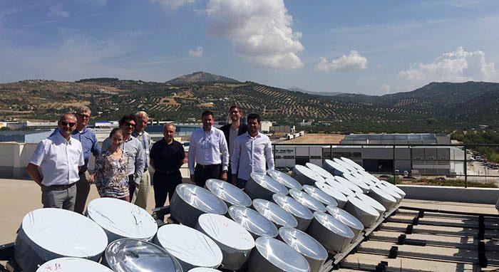 andaltec, proyecto CPV4ALL, CPV4ALL, energía solar, martos, plásticos