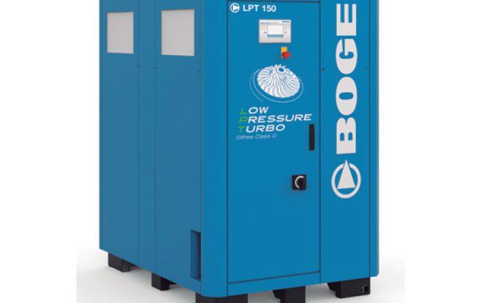 compresor turbo Boge LPT 150, compresor sin aceite, industria, LPT 150, turbo, mantenimiento, eficiencia, ahorro de costes