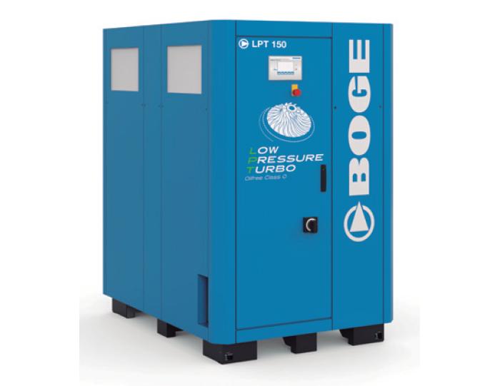 Compresores Boge Turbo LPT 150, a baja presión
