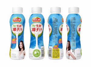 Huanlejia, china, botella de pet, pet, envase de pet, leche de coco, envasado, sidel, líneas de producción, llenadora, plástico
