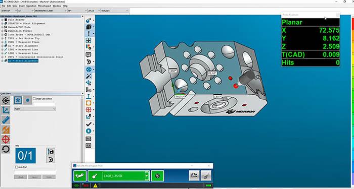 PC-Demis, software de metrología, medición, versión 2018, hexagon MI, hexagon metrology, hexagon manufacturing intelligence, programa PC-Dmis