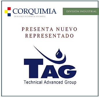 Corquimia, Tag Chemical, acuerdo de representación, química alemana, desmoldeantes, composites, aditivos para plástico
