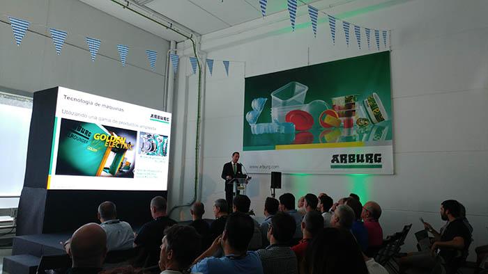 Martin Cayre, open house, Arburg, Barcelona, allrounder, atemperación dinámica de moldes, molde