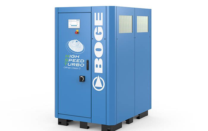 Boge compresores, emaf, feria industrial, aire comprimido, sin aceite, feria industrial