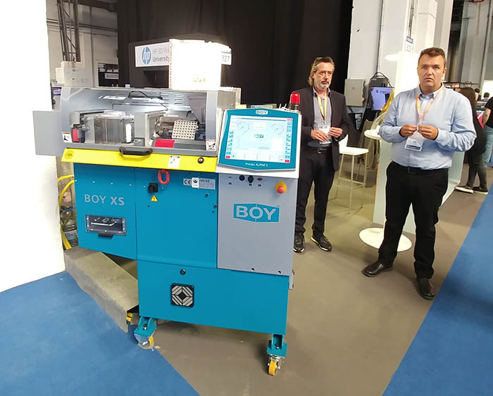 transplast, Arburg, Barcelona Industry Week, Centrotécnica, CEP, fabricación aditiva, freeformer, healthio, HP, HP 3D Printing University, IN(3D)ustry, IoT, jaume homs, Schunk, Universal Robots