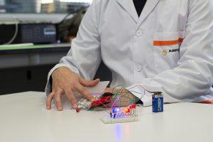 electrónica impresa, plastrónica, proyecto flexens, electrónica flexible, aplicación en juguetes, sector juguetero, aimplas, aiju, ivace, fondos feder