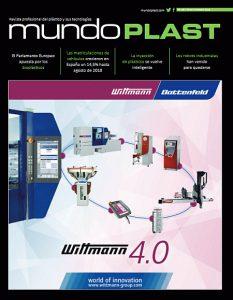 Mundoplast 55, número 55 de la revista mundoplast, mundoplast, revista mundoplast, revista de plásticos, plástico, wittmann, inyección de plásticos, plásticos y automoción, robots, automatización para plásticos, industria del plástico, fakuma, in(3D)ustry