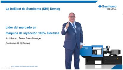 Sumitomo (SHI) Demag, inyectora, intelect, allod, gaiker, jornada técnica sobre tecnologías y materiales plásticos, plástico