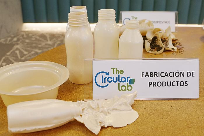 PHBV, PoliHidroxiButilValerato, thecircularlab, ecoembes, ainia, bioplastico, biodegradable, compostable, residuos vegetales, envases, packaging
