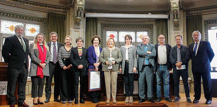 día de la química 2018, celebración oficial, premios anque, colegui de químicos, papel de los plásticos, economía circular