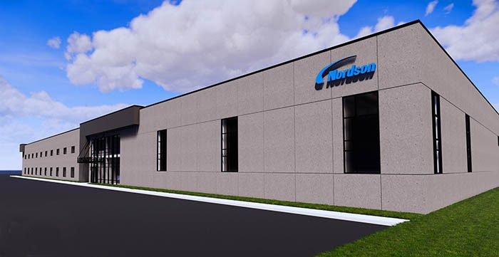 nordson, edi, nueva planta de cabezales de extrusión, edi, wisconsin, fábrica mundial, inversión recubrimiento