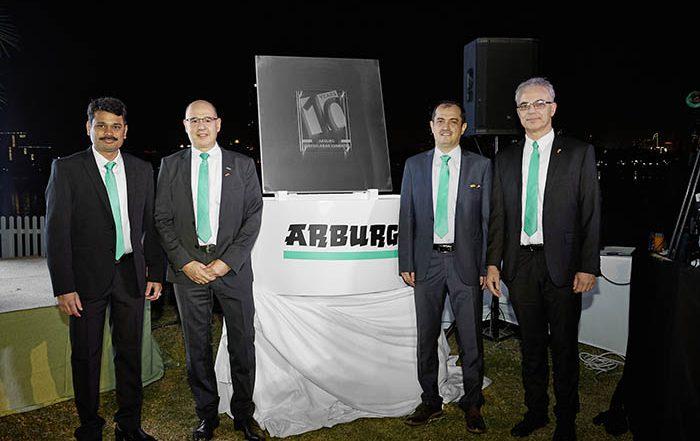 arburg eau, emiratos árabes, décicmo aniversario, cumple diez años, mercado árabe, arburg, inyectoras, plástico, inyección