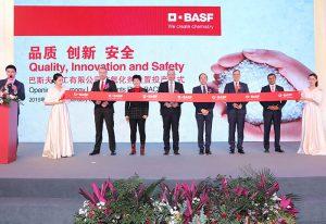 basf, planta de antioxidantes, shanghai, china, mercado de antioxidantes, antioxidantes para plásticos, inauguración