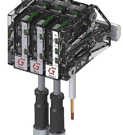 Sensor SBM Gimatic, sensor box modular miniatura, gama sensors, gimatic, concentradores de señales, eoat, personalizable, configuración manual