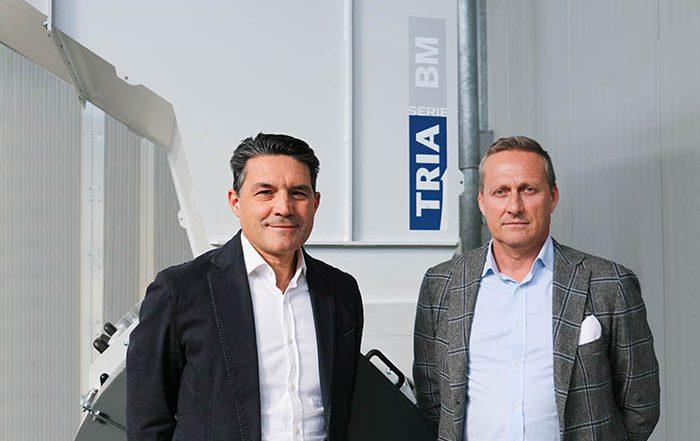 CEo de Tria, fabricante de molinos italiano, Stefano Venturelli, nombramiento, nuevo ceo, Luciano Anceschi, desafíos, granuladores, molinos, plantas de recuperación