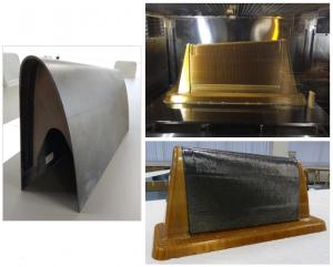 Stratasys, resina Ultem 1010, idec, ala de avión, molde preforma, composites, JEC World, Stratasys, resina, Wehl & Partner