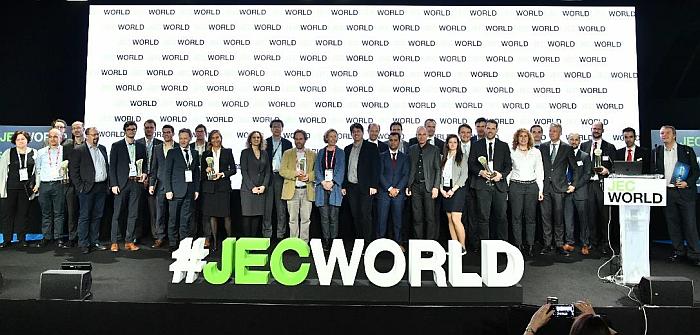 premios a la innovación en composites, jec composites, jec world 2019, 2019, paris, mejores aplicaciones con composites, materiales compuestos, mejores procesos de composites, premios, JEC Innovation Awards