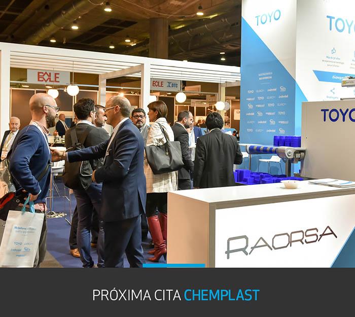 Raorsa estará presente en ChemplastExpo 2019