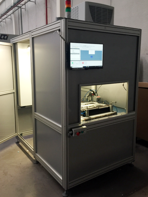 andaltec, centro tecnológico del plástico, texturizado láser, máquina láser de texturizado, texturizado de piezas plásticas, piezas de plástico