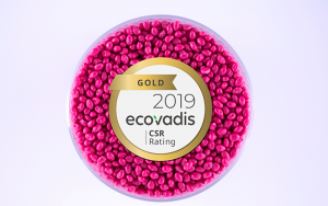 Elix Polymers, ecovadis gold, 2019, certificación, rsc, responsabilidad social corporativa, logro