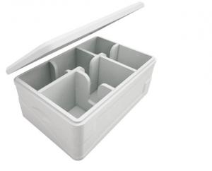knauf Industries, envases bitemperatura, cajas de plástico, porductos perecederos, polipropileno expandido