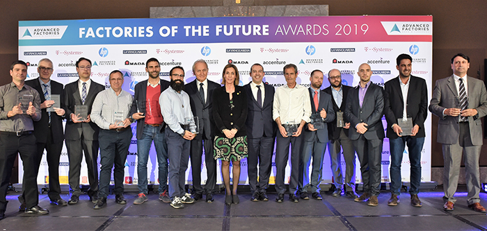 factories of the future awards, premios a la innovación industrial, advanced factories 2019, propuestas, candidaturas, industria 4.0, robótica