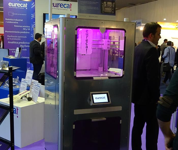 Así es la nueva impresora 3D de silicona de Eurecat