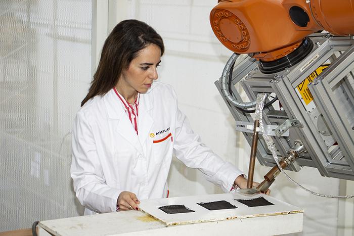 Famacom prueba un nuevo método de fabricación de piezas ligeras para aeronaves