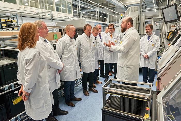 Grupo Antolín abre una planta de iluminación en Bamberg (Alemania)