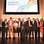 Ganadores Premios ChemPlast 2019, repsol, Dow Ibérica, Eurecat, innovación, nuevos materiales, economía circular, industria 4.0, feria chemplastexpo, itoplas, aimplas
