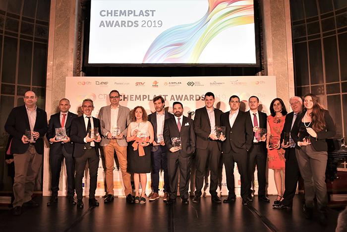 Ganadores de los ChemPlast Awards 2019