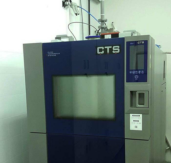 Andaltec: nuevo servicio de ensayos en cámara de choque térmico