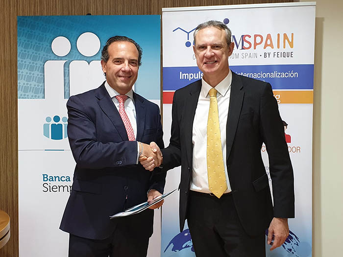 chemSpain, chemical from spain, cajamar, acuerdo, financiación, internacionalización, industria química española, feique, exportaciones, química
