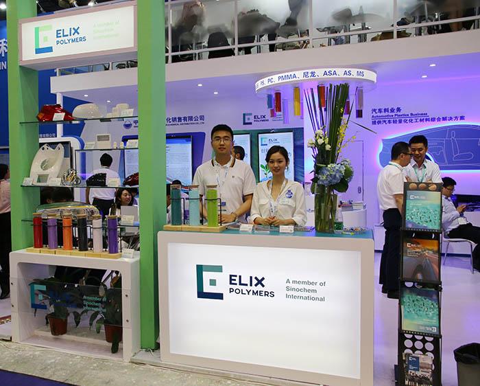 Elix Polymers hace balance de su paso por Chinaplas 2019
