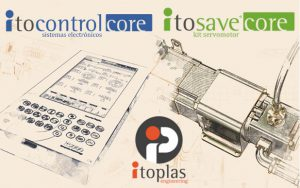 itoplas, itosavecore, itocontrolcore, máquinas pequeñas, inyectoras de pequeño tonelaje, ahorro energético, industria 4.0, itoSave, itocontrol, máquinas de inyección, lanzamiento