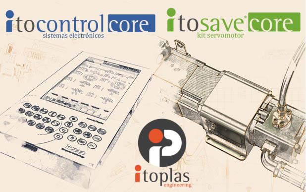 Itoplas presenta su nueva gama de productos itoSaveCORE e itoControlCORE para máquinas pequeñas