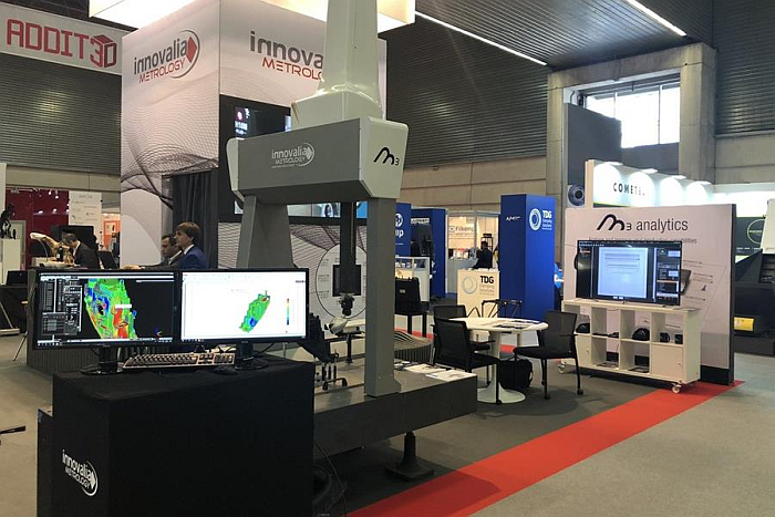 innovalia metrology, m3mh, software de medición, industria, feria subcontratación, m3 analytics, M3 Arm