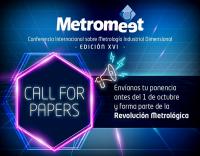 Metromeet, convocatoria de ponencias, metromeet 2020, conferencia internacional de metrología, innovalia metrology, febrero 2020