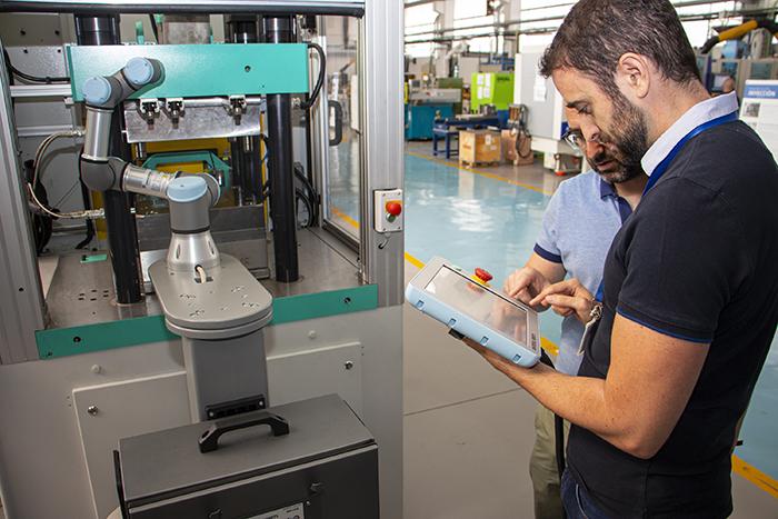 Proyecto G4ND4LF, industria 4.0 aplicada a los procesos de transformación de plásticos