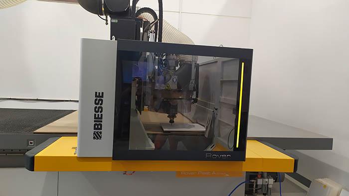 Biesse, plástico, open house, talleres, barcelona, biesse ibérica, centros de mecanizado rover plast, julio 2019