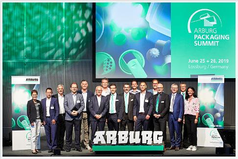 Arburg Packaging Summit, inyectoras de plásticos, envases, packaging, junio 2019, lossburg, vdma, plasticseurope, basf, henkel, erema, economía circular, envases plásticos, reciclado