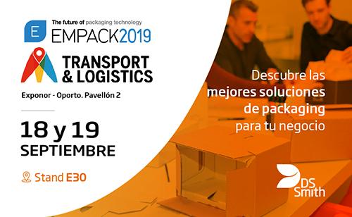 DS Smith en Empack & Logistics Porto 2019